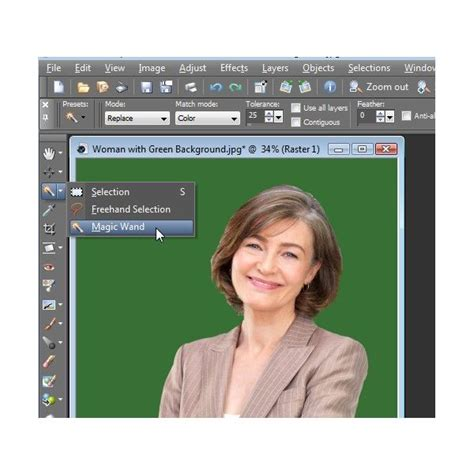 paint tool sai magic wand selecting everything how to add or replace a background to a digital photo with
