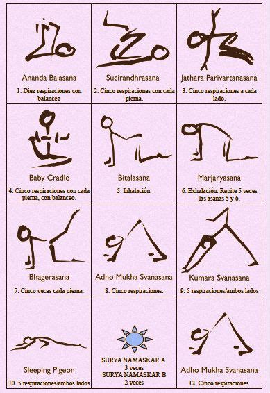secuencias de yoga 732 best yoga images on