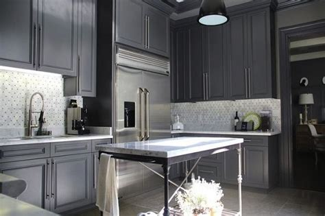 paint color ideas adding charcoal to your modern kitchen
