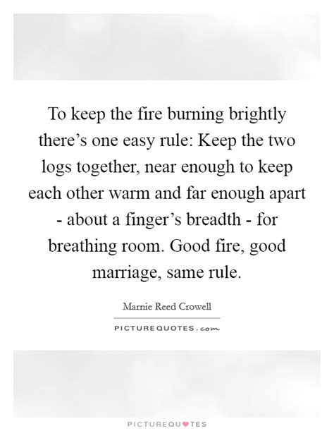 in a burning room meaning marnie reed crowell quotes sayings 1 quotation