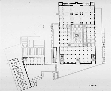 floor plan of mosque qubbah mosque b w drawing ground floor plan archnet