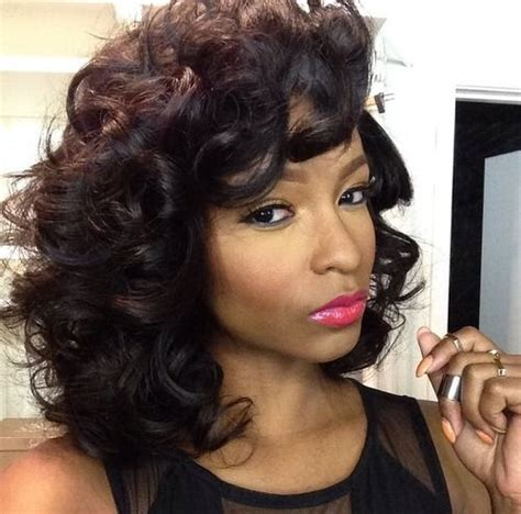 relaxed curl perm for 50 to 60 yr old best 25 roller set natural hair ideas on pinterest
