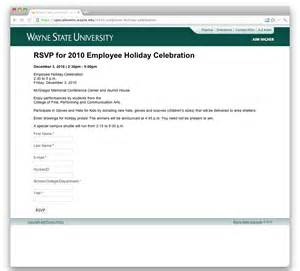 rsvp template for event design change event rsvp template web communications