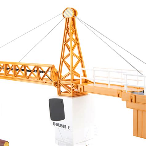 Rc Tower Crane Mainan Remote Crane eagle 2 4ghz simulation remote tower crane rc construction ebay