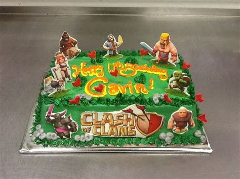 themes coc i may want this clash of clans cake to be for my clash of