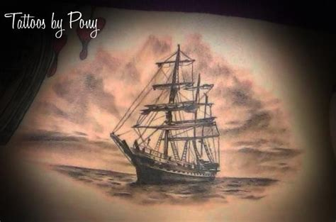 what does a boat symbolize by pony lawson chicago il www inkfreakz full chest
