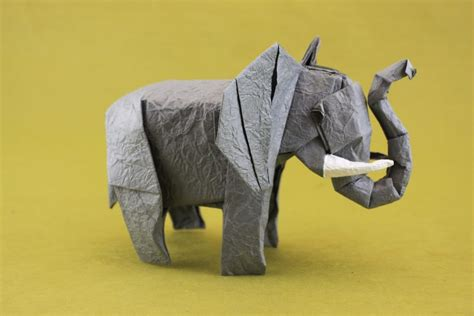 How To Make An Elephant Out Of Paper - 31 origami elephants to fold for the elephantorigamichallenge