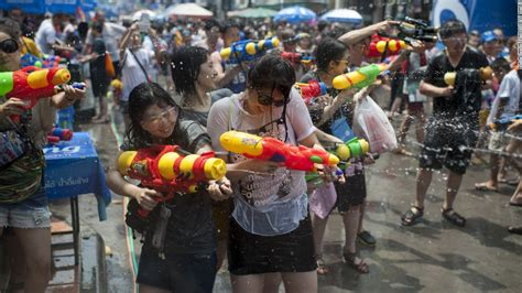 when is new year 2015 in thailand thailand celebrates new year with world s water fight