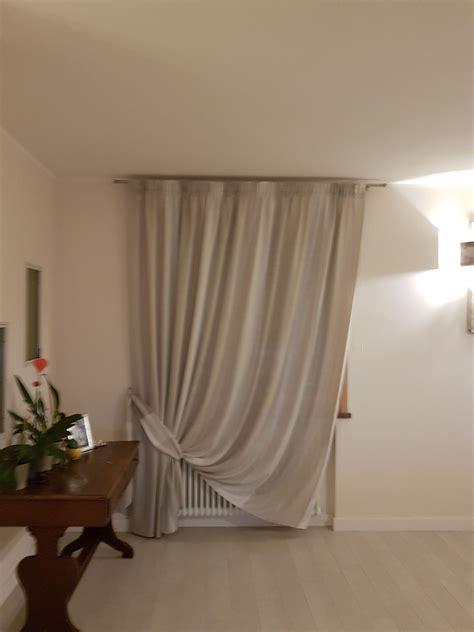 tenda arricciata tenda arricciata su bastone con fascia fermatenda per
