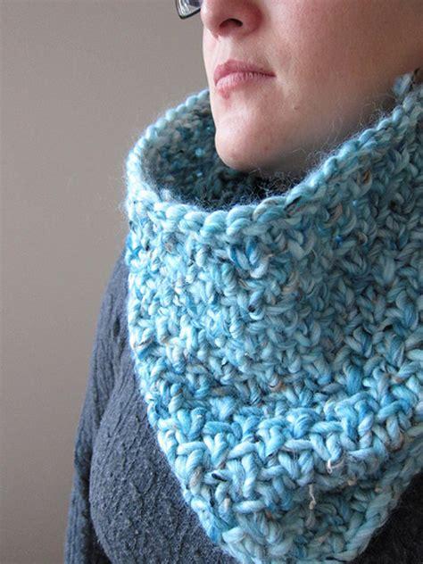 bufanda collar tejido en dos agujas bufandas y cuellos tejidos en dos agujas imagui