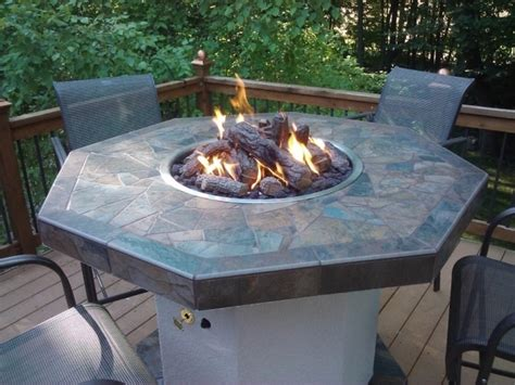 Bar Height Patio Table With Pit by Alluring San Marcos 7 Bar Height Patio Set With