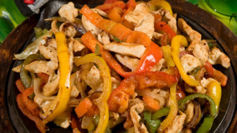 food without chicken healthy mexican food chicken fajitas recipe fitness blender