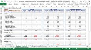 free monthly job budgets cash flow forecasts data file