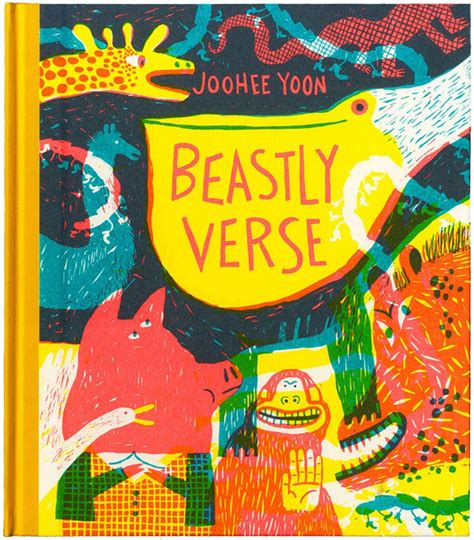 libro beastly verse front cover for beastly verse by joohee yoon published by enchanted lion books art