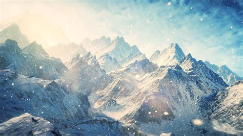 wallpaper hd 1920x1080 winter winter mountains with snow hd wallpaper 187 fullhdwpp full
