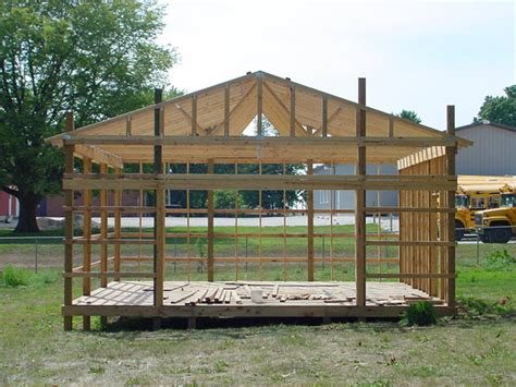 pole shed plans your own pole shed from