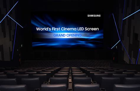 Sinensa Teh samsung debuts world s cinema led display samsung