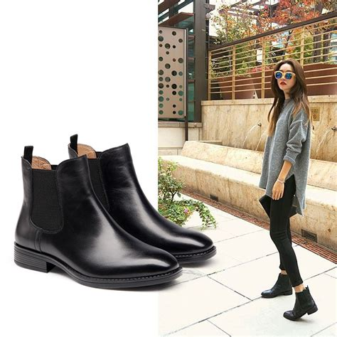 best leather boots tsaa heel
