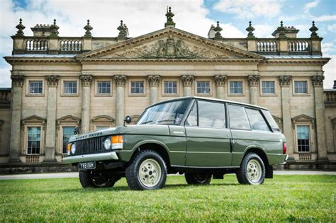 first range rover ever made first ever range rover up for auction cars co za