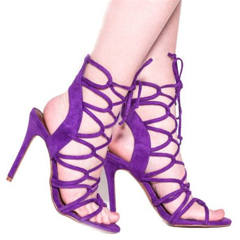 purple high heel sandals purple sandals heels fs heel
