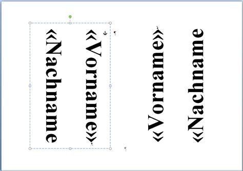 Vorlage Word Namensschilder Namensschilder Erstellen Mit Word 2010 A5 Format Computer