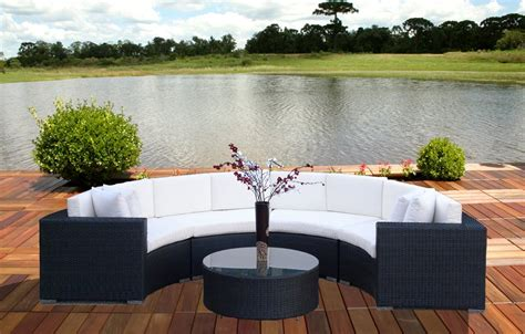 round patio sectional outdoor patio and garden design ideas for homeowners