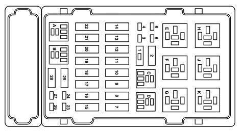 2004 ford e250 fuse diagram ford e 250 2004 fuse box diagram auto genius