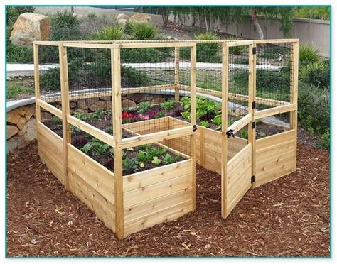 ground vegetable garden box plans home improvement