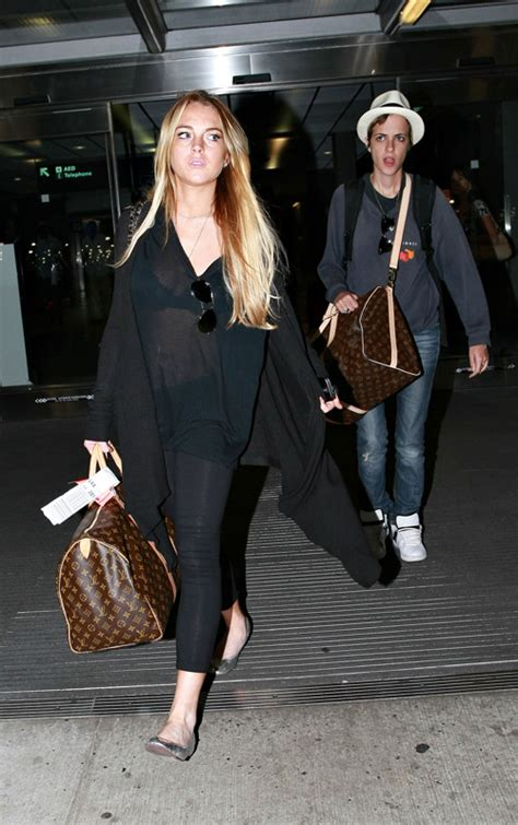 Lindsay Lohan Louis Vuitton Key Holder by Lv Estilo Pr 243 Prio S