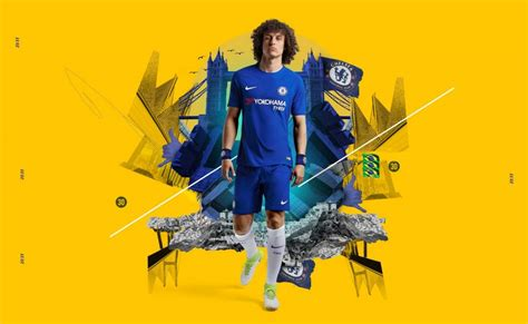 Kaos Chelsea Chelsea The Blues jersey bola chelsea home 2017 2018 jersey bola