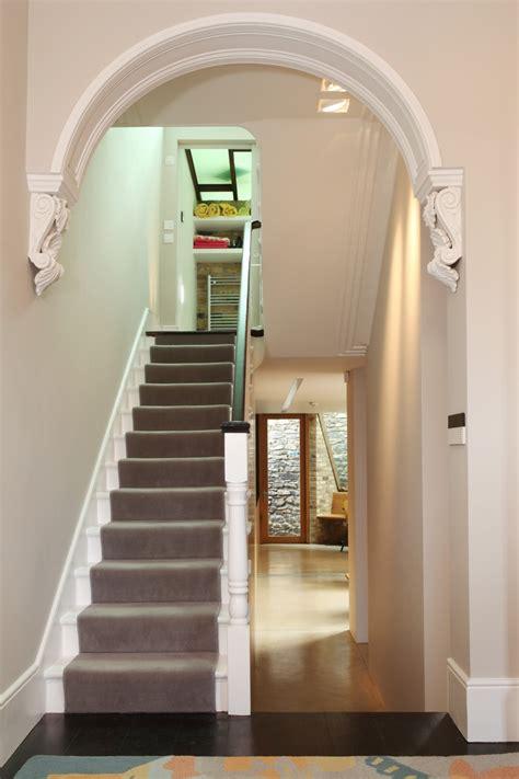 Open Plan Kitchen Hallway by 12lpa Restored Hallway Arch Architecture