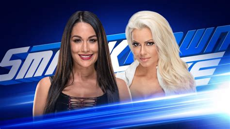 maryse bella wwe smackdown live preview for 09 11 2018 brie bella vs