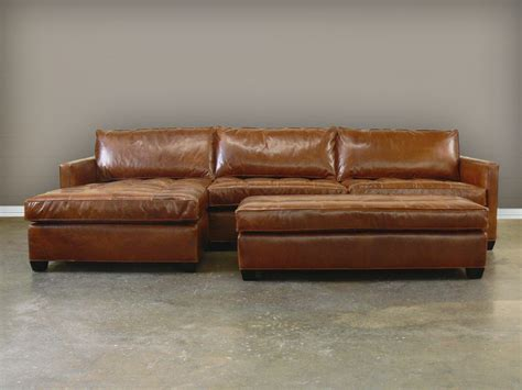 Leather Sectional Sofa Sectional Couches Brown Sofa With Leather Chaise Sofa