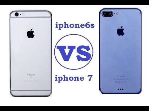 iphone 7 vs 6s release date price specs what is new on iphone 7