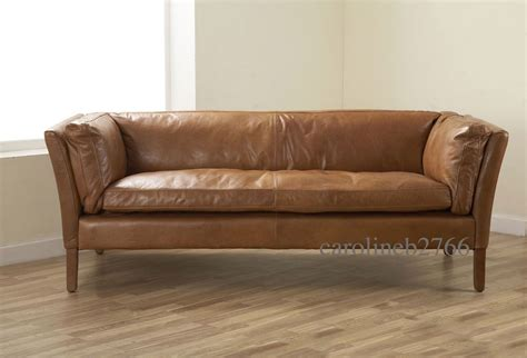Groucho Leather Sofa by Buy It Now 163 1 269 Lewis Groucho Walnut Leather Sofa