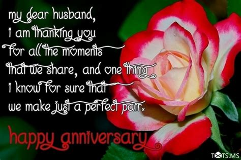Wedding Anniversary Quote For by Anniversary Wishes For Husband Quotes Messages Images