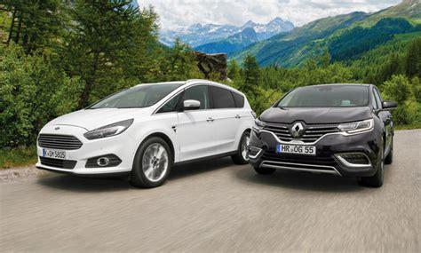 Kfz Versicherung Vergleich Seriös by Ford S Max Renault Espace Vergleich Autozeitung De