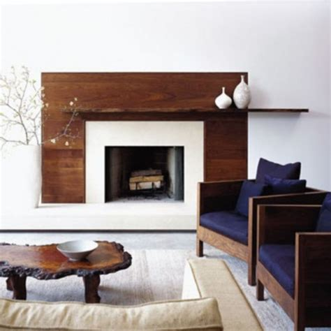 Wooden Fireplace Surround by Fireplace On Fireplaces Modern Fireplaces And