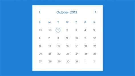 monthly calendar template psd file free download