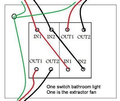 how to replace bathroom fan with light replacing a bathroom light fan switch connections