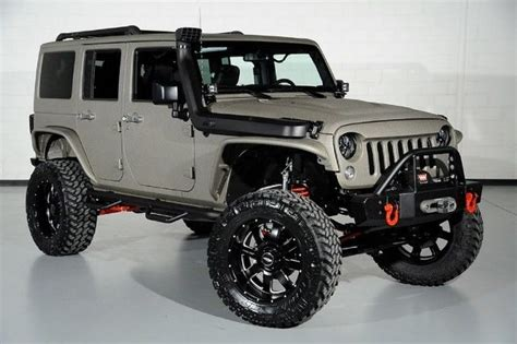 Used Jeep Wrangler Roof Rack by 2016 Jeep Wrangler Gps Roof Rack Navi Silver Leather