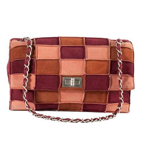 Patchwork Chanel Bag - chanel vintage 2 55 patchwork suede flap shoulder handbag