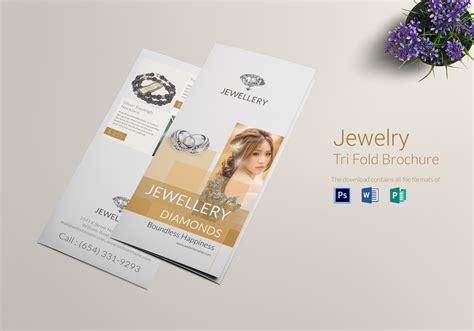 Jewelry Brochure Design Templates Style Guru Fashion Glitz Glamour Style Unplugged Jewelry Catalog Template