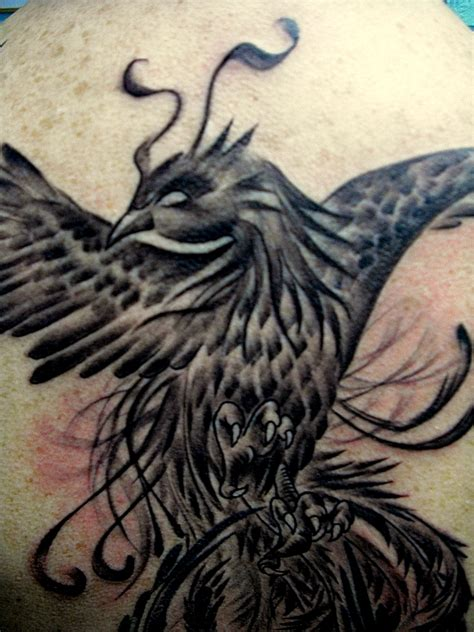 phoenix tattoo in oxford ms black phoenix tattoos pictures to pin on pinterest
