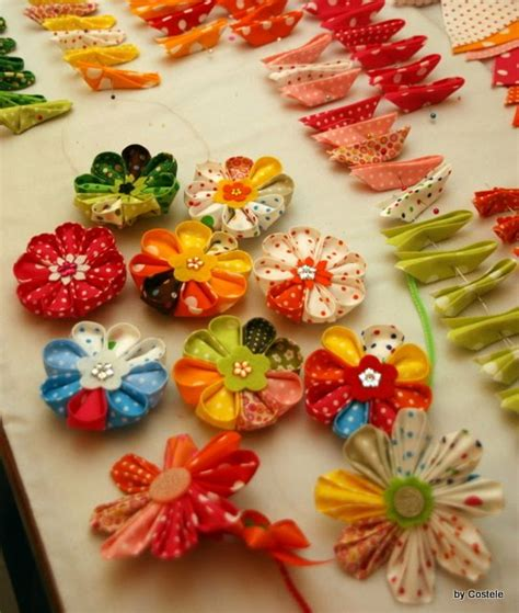 how to make kanzashi rox s world of quilts how to make a kanzashi flower