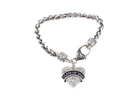 silver jewelry classes class of 2016 graduation silver bracelet