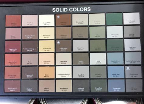 sherwin williams concrete stain color chart