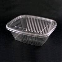 Pet Tray Salad 750ml plastic container salad container with lid id 2881848