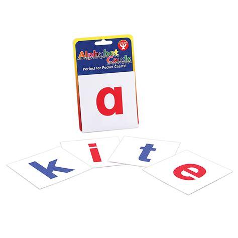 Smart Card Letters A Z alphabet cards a z lower letters