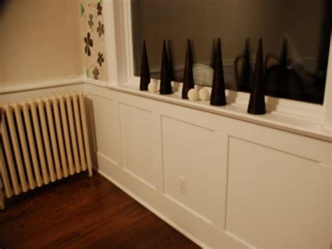 walls 187 simple ways to install faux wainscoting wallpaper